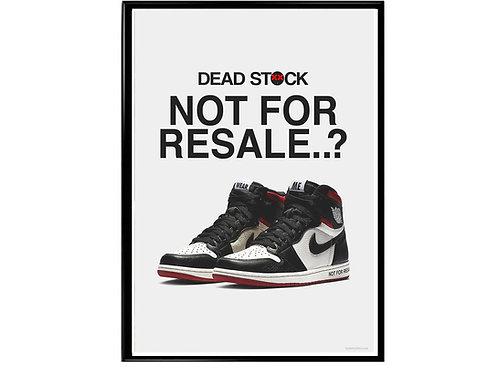 copy of Outside the Box Sneaker Poster, Hypebeast Poster, Modern Pop Art