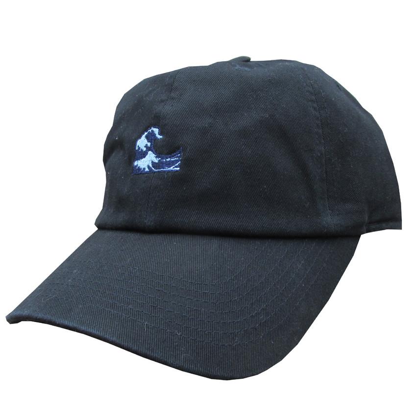 waves emoji dad hat, trendy summer caps