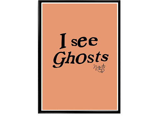 Kanye West I See Ghost Music Poster Printable
