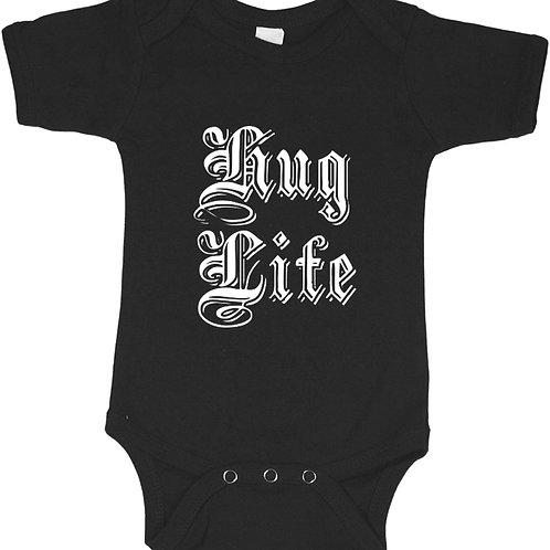 Hug Life Baby Bodysuite, Hypebeast Baby Onsie,Cool Toddlers Streetwear Shirt