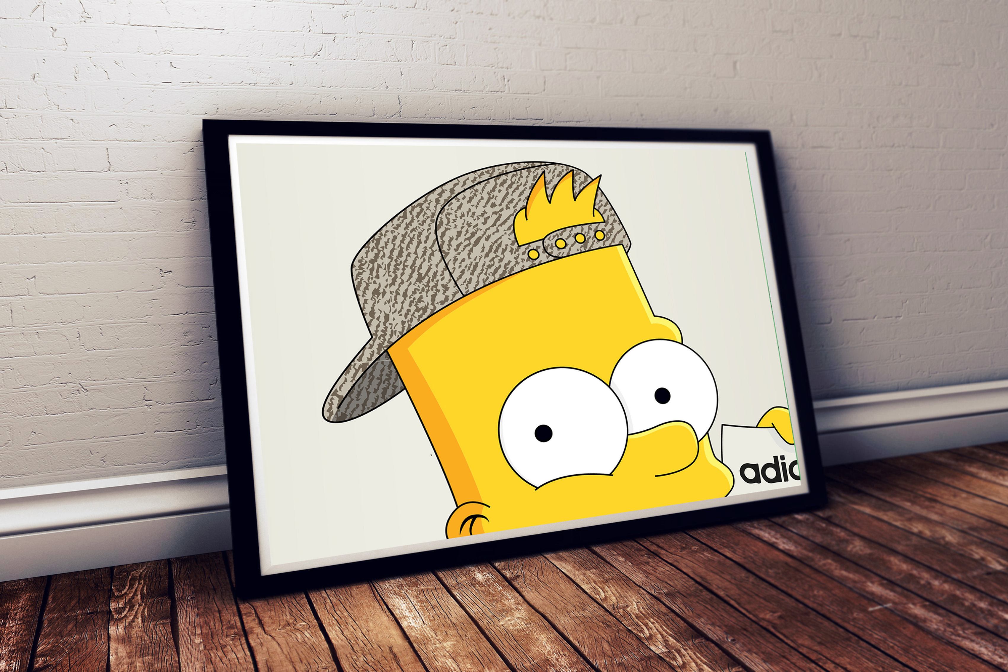 Pop Culture Wall Art-Streewear News | TakeFlight214 | Head Shot ...