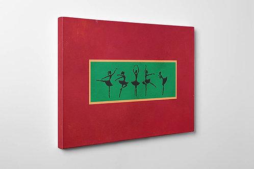 Kanye West Art Dancing Girl Canvas Art, Hypebeast Canvas Prints