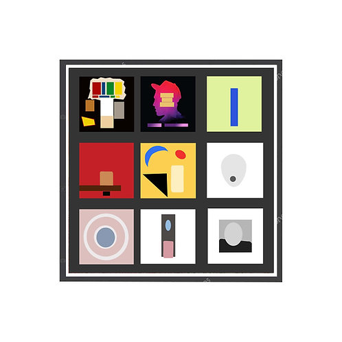 Mac Miller Minimal Album Poster, Hypebeast Poster, Hip Hop Wall Art