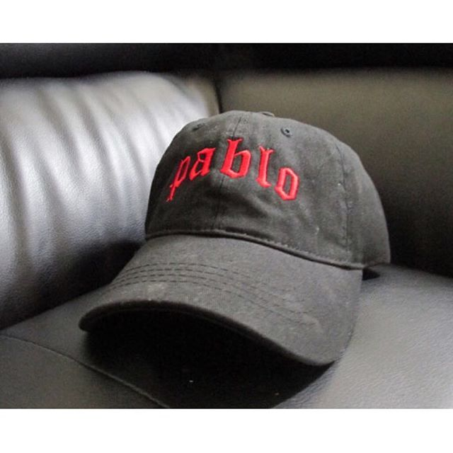 the life of pablo dad hat, kanye west streetwear tour apparel merch