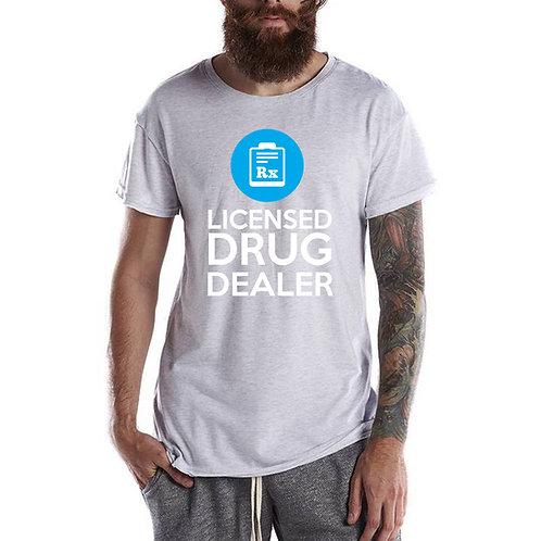Licensed Drug Dealer T Shirt, Streetwear Hypebeast T Shirt