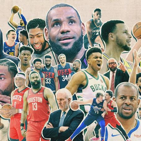 """""""2K20"""". The NBA 2020 Pre- Season Line Up and Shake Down"""