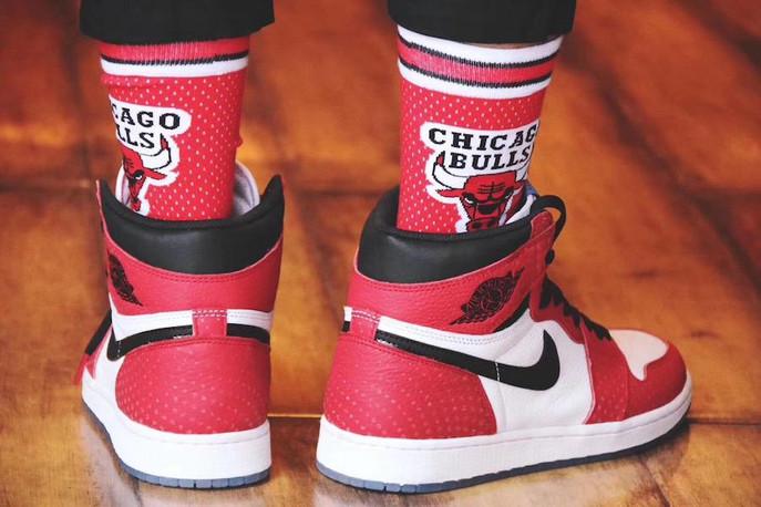 """CRYSTALRED""OG""CHRISTMAS"" - Air Jordan 1 Retro Chicago Crystal!"