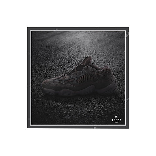 Yeezy Boost Poster, Hypebeast Poster Pop Culture Sneaker Wall Art