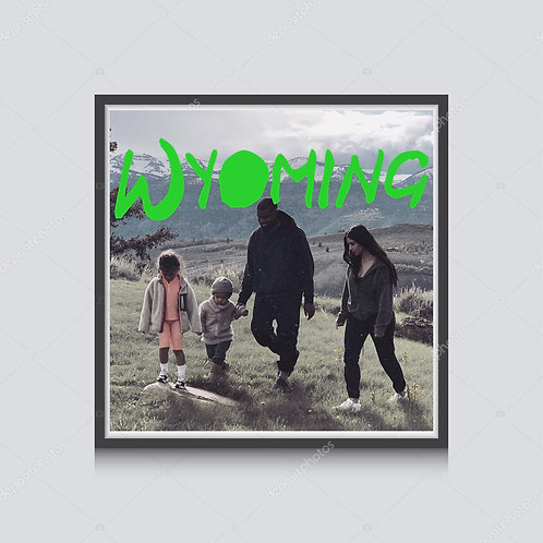 Kanye West Wyoming Poster, Hypebeast Poster Print, Ye Album Poster Music Poster