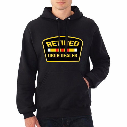 Retired Drug Dealer Jay Z Hooded Streetwear Hoodie Sweatshirt