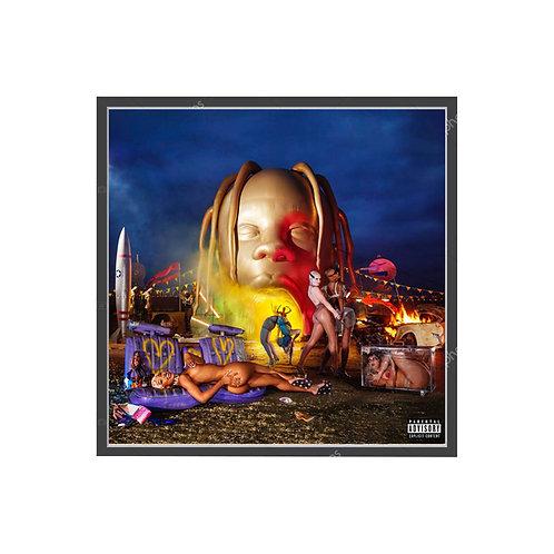 Travis Scott Astroworld Alt Album Poster, Hypebeast Poster, Pop Culture Poster