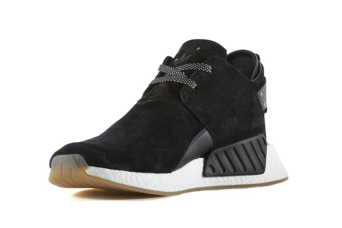 The adidas NMD CS2 Dons Suede and Leather for the Fall Season