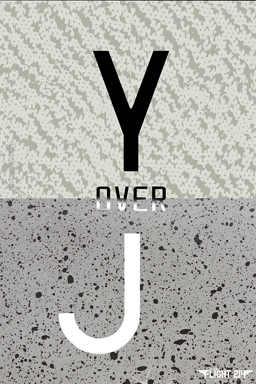 Yeezy Over Jordan Custom Kicks Sneaker Poster Art