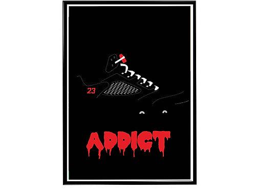 Sneaker Addict Poster, Hypebeast Poster, Kicks Poster