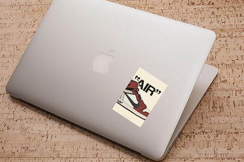 Off White x Air Jordan Sneaker Sticker, Hypebeast Stickers, Sneaker Decal, Stic