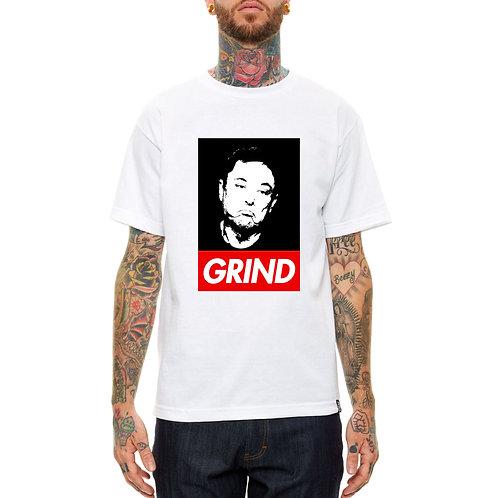 Elon Musk Grind Pop Art T Shirt, Streetwear Hypebeast T Shirt
