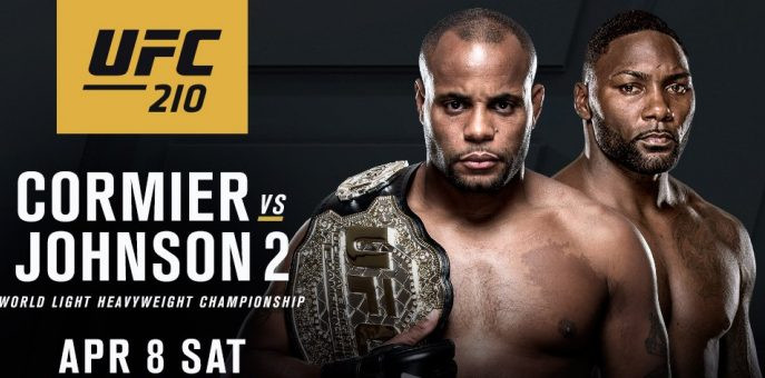 DC/Rumble 2 Is Back On: Daniel Cormier vs. Anthony Johnson 2 Back on For UFC 210