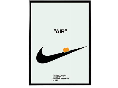 Retro OG Wt Sneaker Poster Pop Culture Hypebeast Poster Sneaker Wall Art