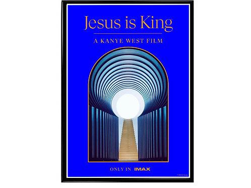 Kanye West Jesus is King Movie Poster, Music Poster, Hip Hop Poster