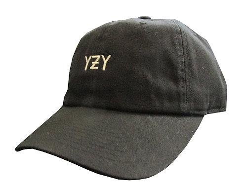Custom YZY Boost Yeezus Black Polo Cotton Dad Hat