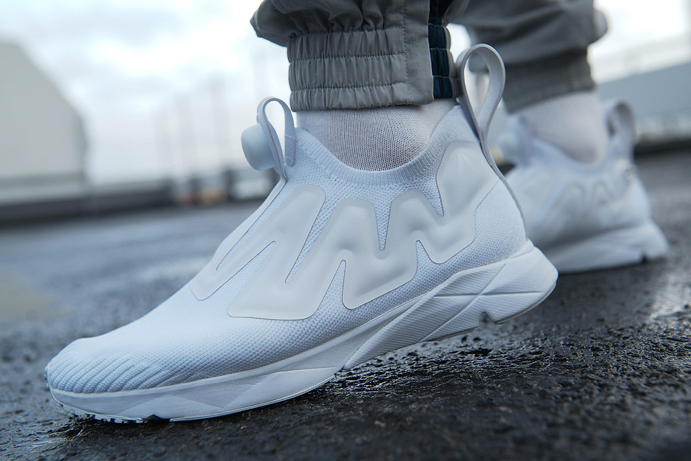 Reebok Pump Supreme UltraKnit triple white
