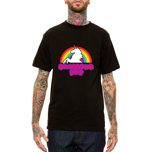 Gangster Rap Unicorn Sneaker Matching T Shirt, Streetwear Hypebeast T Shir
