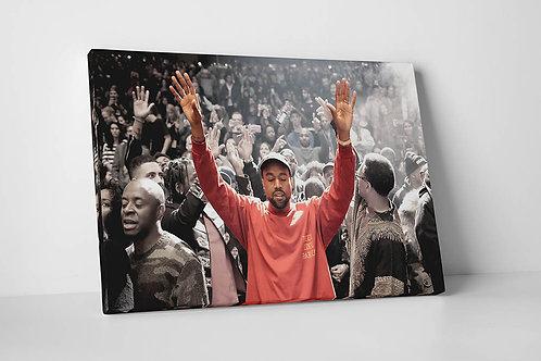 Kanye West MSG Canvas Art, Hypebeast Canvas Prints, Yeezy Canvas Print
