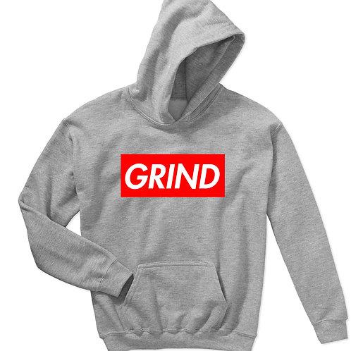 Grind Box Logo Sneaker Match Hoodie, Streetwear Hypebeast Sweatshi