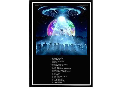 Lil Uzi Vert Eternal Atake Poster, Hypebeast Poster, Music Poster
