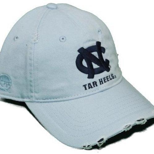 North Carolina Tar Heels Blue Strap Back Hat Adjustable