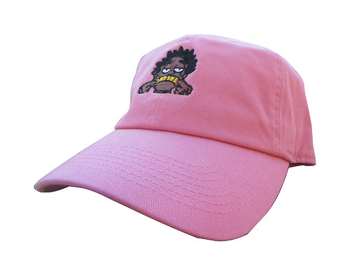 Kodak Black Salmon Pink Emoji Meme Custom Twill Cotton Dad Hat Cap