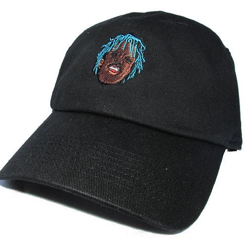 Lil Uzi Vert Bk. Emoji Meme Too Much Sauce Twill Cotton Dad Hat