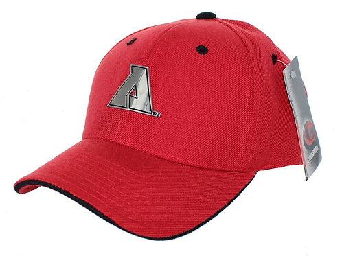 San Diego State Aztecs Adjustable Back Hat Pewter Medallion Logo Cap
