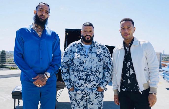 Higher - DJ Khaled, Nipsey Hussle, John Legend - New Release