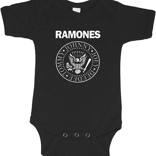 Ramones Baby Bodysuite, Cool Toddler Band Onesie, Trendy Hipster Bodysuite