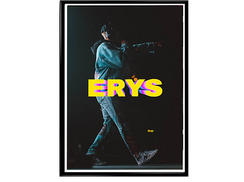 Jaden Smith Erys Poster, Music Poster, Hypebeast Poster