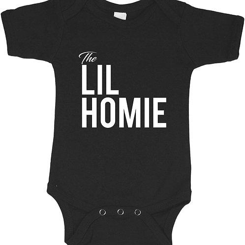 The Lil HomieBaby Bodysuite, Hypebeast Baby Onsie,Cool Toddlers Streetwear