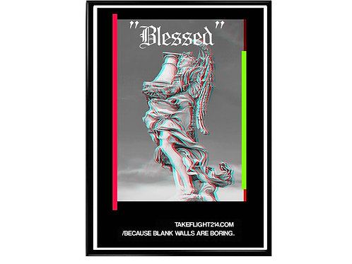 Blessed Angel Streetwear Poster, Hypebeast Poster