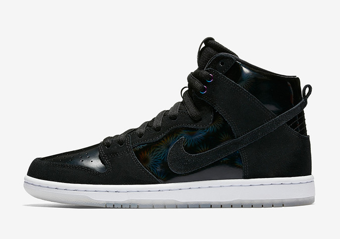 "The Nike SB Dunk High Pro ""Iridescent"": Giving People that OG 90's Sneaker Feel"