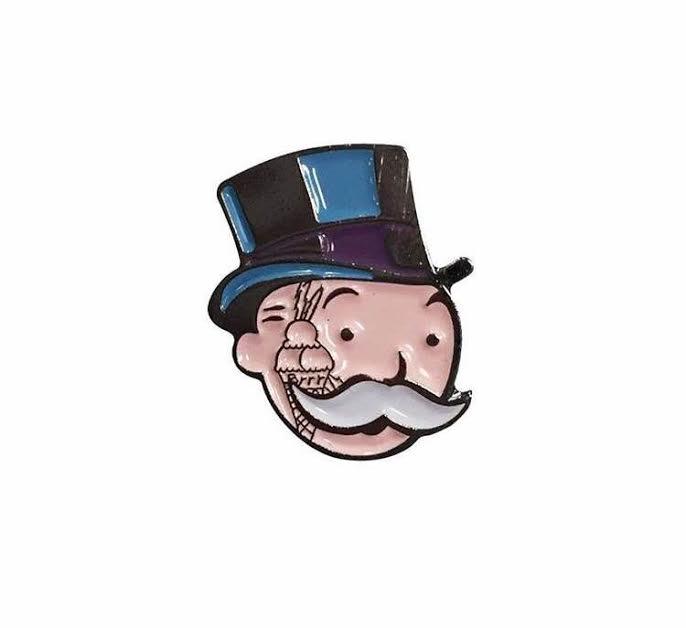 monopoly man gucci mane pin