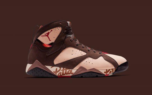 PATTA X Jordan Brand 7 Sneaker RElease