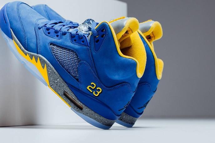 Sneaker Release: Jordan Laney 5 High School Varsity -- FLAME