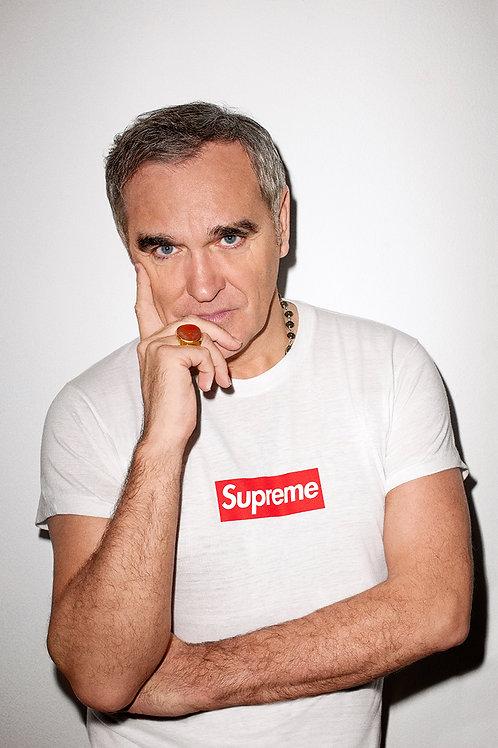 Supreme x Morrissey Custom Kicks Sneaker Poster Art