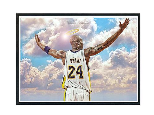 RIP Kobe Bryant Poster, Hypebeast Poster, Kicks Poster, Sports Fan Art