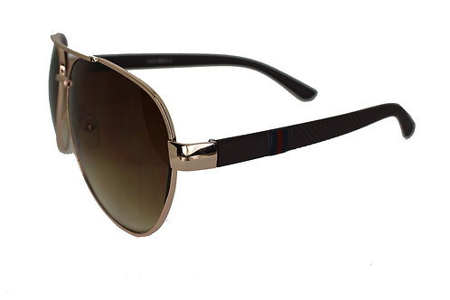 The Weekender Brown/Gold Streetwear High Fashion Sunglasses Shades Eyewe