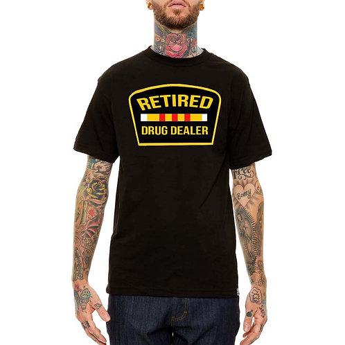 Retired Drug Dealer Jay Z Black Streetwear T Shirt