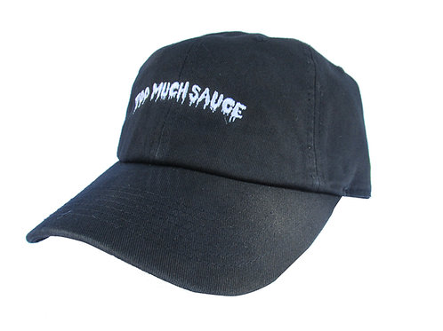 Too Much Sauce Lil Uzi Vert Bk. Emoji Meme Twill Cotton Dad Hat