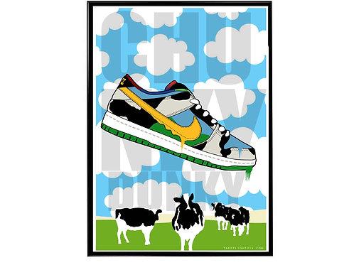 Chunky Dunky Sneaker Poster, Hypebeast Poster, Kicks Poster