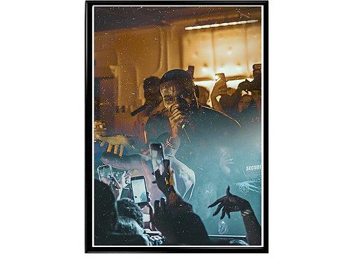 Da Baby Collage Hip Hop Poster Printable