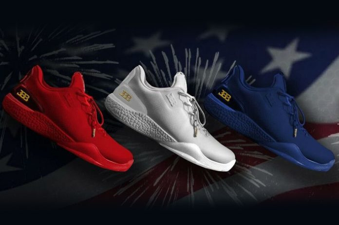 Big Baller Brand independence day sneaker